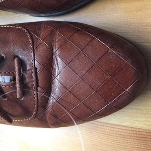 Dr. Scholl's Shoes - Sold! Dr Scholl's Cognac leather lace oxfords